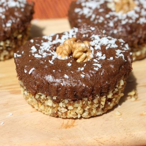 Čokoladno orehove tortice