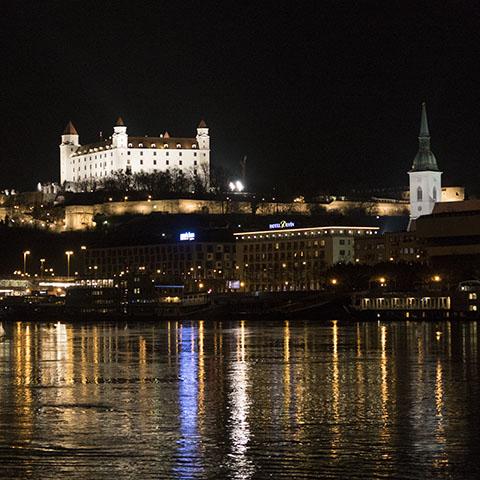 Romantika na potepu - Bratislava