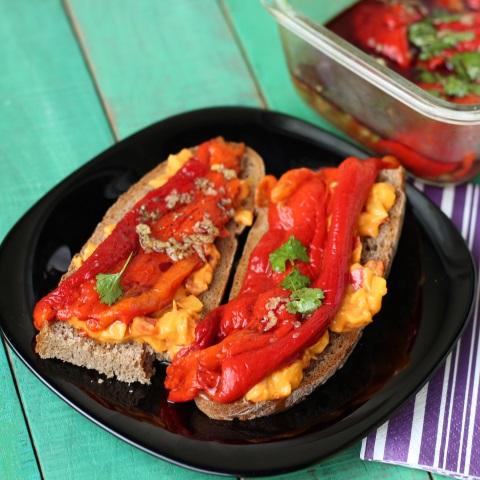 Pečena kisla paprika